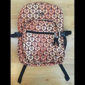 Jansport Backpack Skull Hearts Large